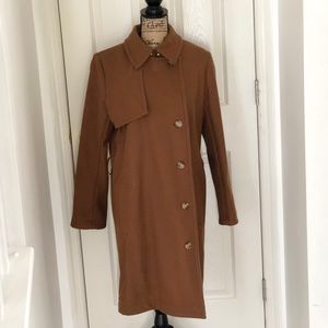 Long tan/brown trench coat from the Gap